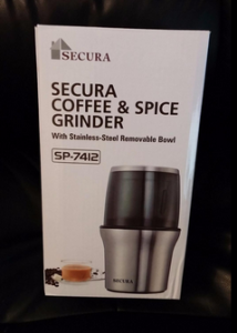 secura blade coffee grinder