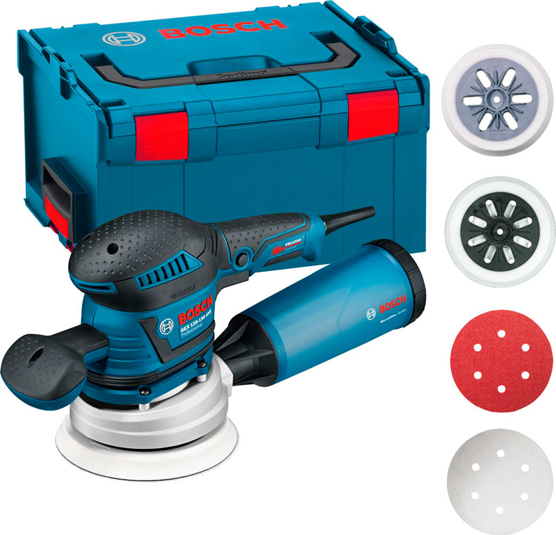 BOSCH GEX 125 150 AVE