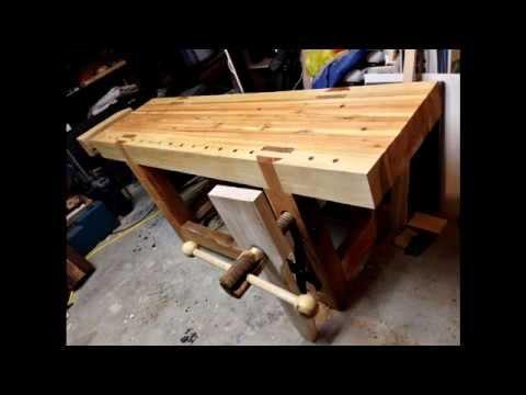 Видео как сделать верстак 395