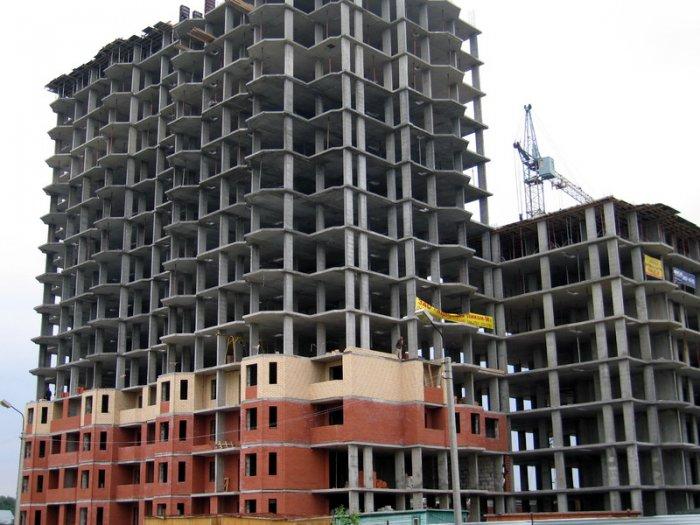 Пример строительства дома по кирпично-монолитной технологии