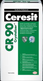 Церезит проникающая гидроизоляция – Гидроизоляция Ceresit CR 90 Crystallizer. Цементная гидроизоляционная масса Церезит СР 90: технические характеристики, расход, применение.