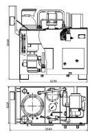 Пгп 15 – ООО «Коммунар-Сервис» — Пресс гидравлический пакетирования ПГП-15