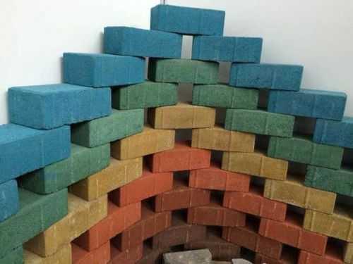 колеровка бетона окислами