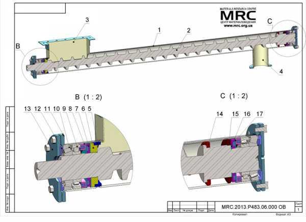 шнековый транспортер схема подключения